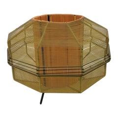 String Design Midcentury Table Lamp, 1960s