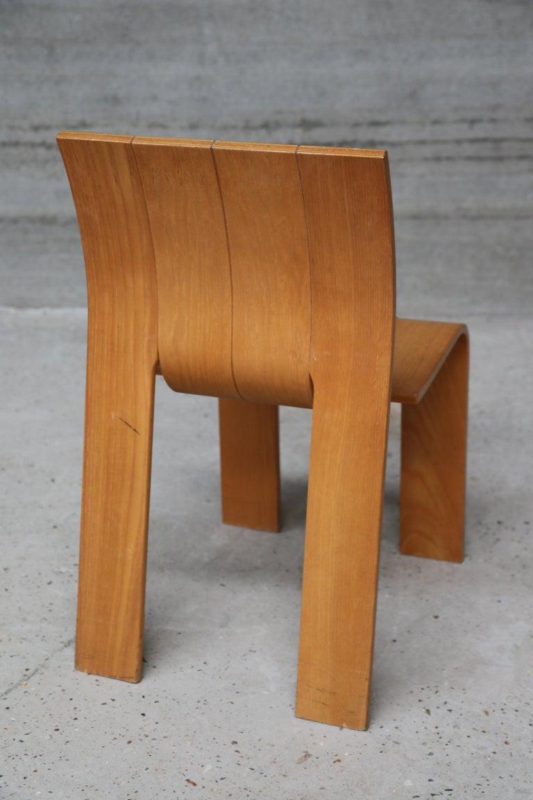 Strip Chair Set of 6 by Gijs Bakker 5