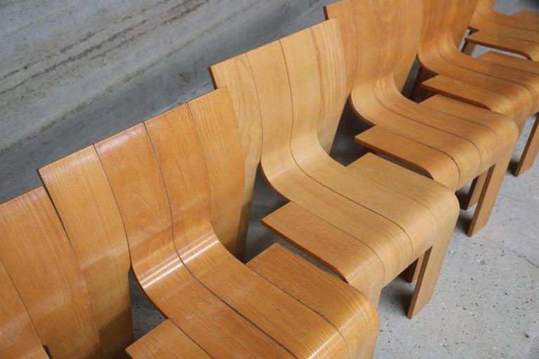 Strip Chair Set of 6 by Gijs Bakker 2