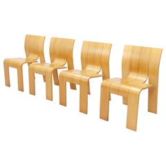 Strip Chairs, Design Gijs Bakker for Castelijn, 1970s