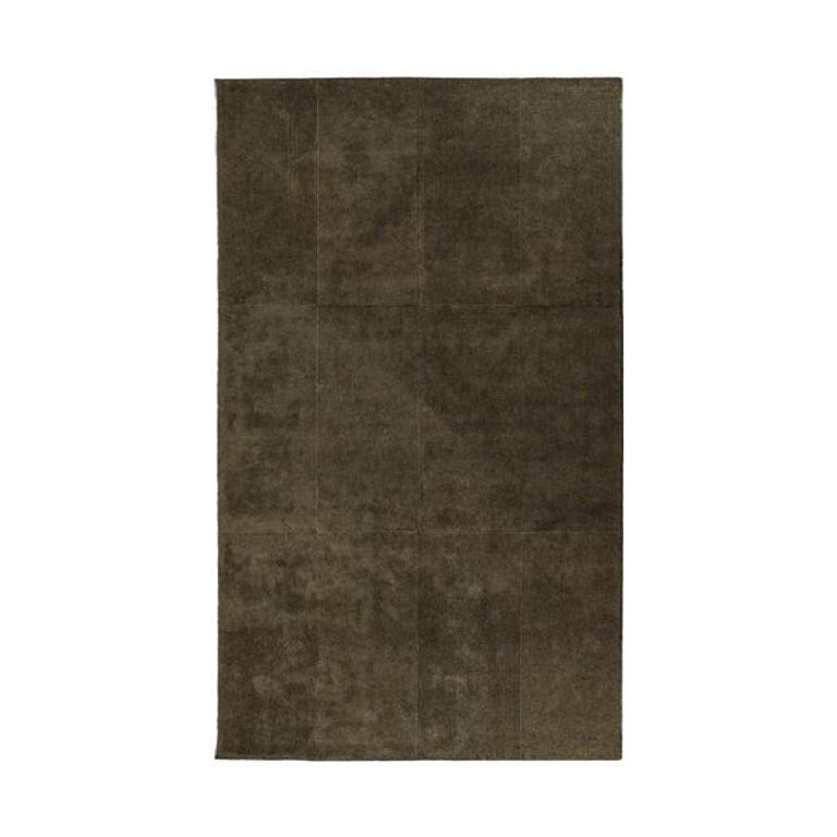 Molteni&C Stripe Rug Vincent Van Duysen Design Brown Silk and Wool