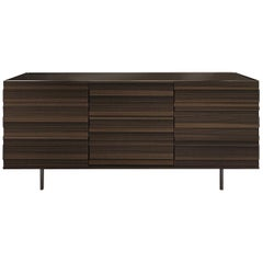 Stripe Three-Door Sideboard by Pierangelo Sciuto