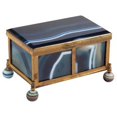 Striped Agate Box