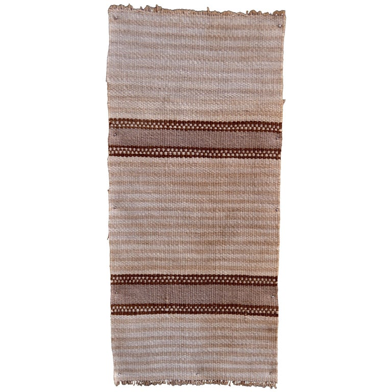 Striped Inca Pre-Columbian Textile, Peru, circa 1400-1532 AD, Ex Ferdinand Anton For Sale