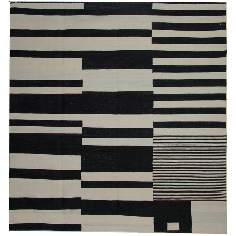 Striped Rug Kilim Rugs Carpet From Afghanistan Modern For