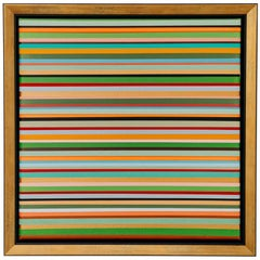 """""""Stripes"""" Oil on Canvas Painting by Denis De Gloire"""