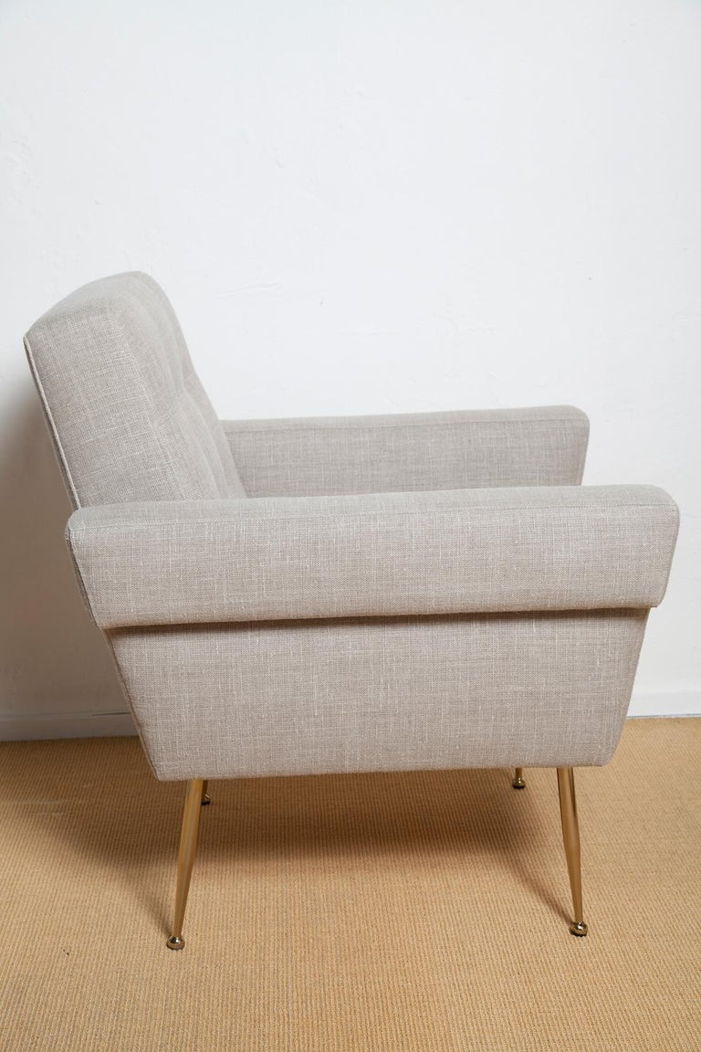 Stripe's Own Custom Milano Lounge Chairs For Sale 1