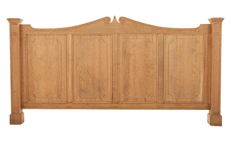 American Stripped Oak Room Divider For Sale