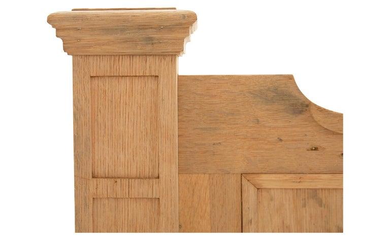 Stripped Oak Room Divider For Sale 1