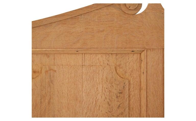 Stripped Oak Room Divider For Sale 2