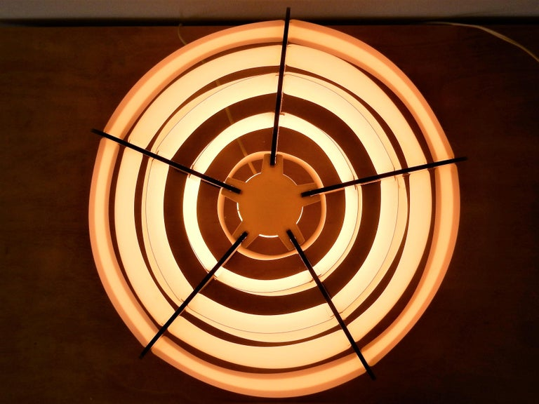 Mid-Century Modern Strips Table Lamps by Preben Jacobsen & Flemming Brylle for Quality System