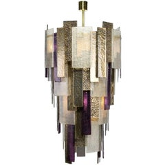 Stromboli Chandelier with Murano Glass (US Specification)