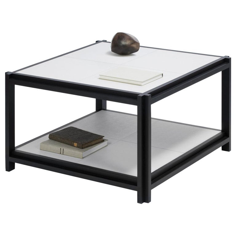 Structura 2 Level Square Coffee Table For Sale At 1stdibs
