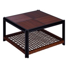 Structura Crisscross 2-Level Square Coffee Table