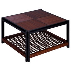 Structura Crisscross 2-Level Square Coffee Table
