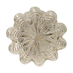 Structure Bubble Glass Flushmount or Sconce, German, 1960s