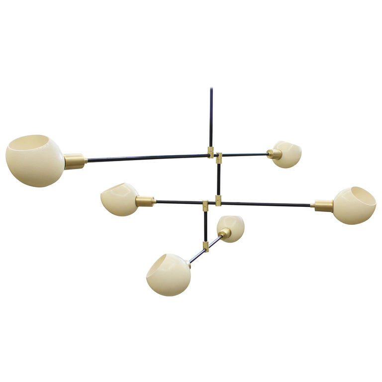 Struthio Ostrich Egg Chandelier For Sale