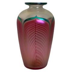 Stuart Abelman Art Glass Vase