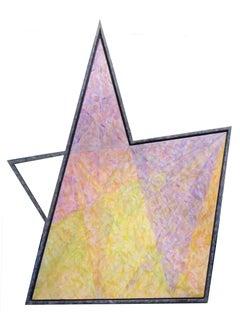Five Points Shaped  Canvas
