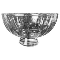 Stuart Clear Cut Crystal Bowl-England