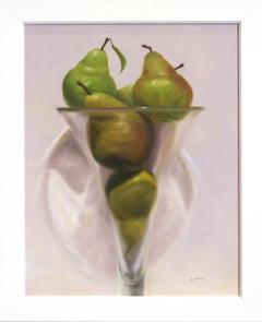 Pears in Violet