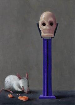 Stuart Dunkel, Mouse Vanitas, 2018