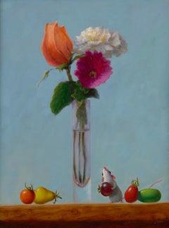 Stuart Dunkel, Three Flowers
