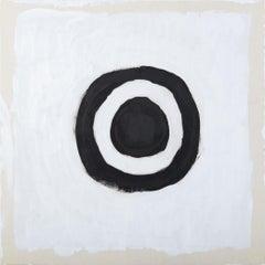 Circle Painting - acrylic on wood