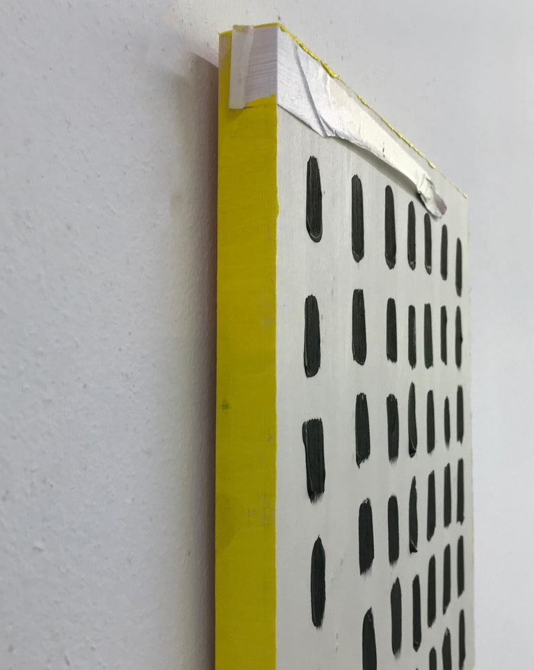 Optimism Painting I - acrylic on wood For Sale 3