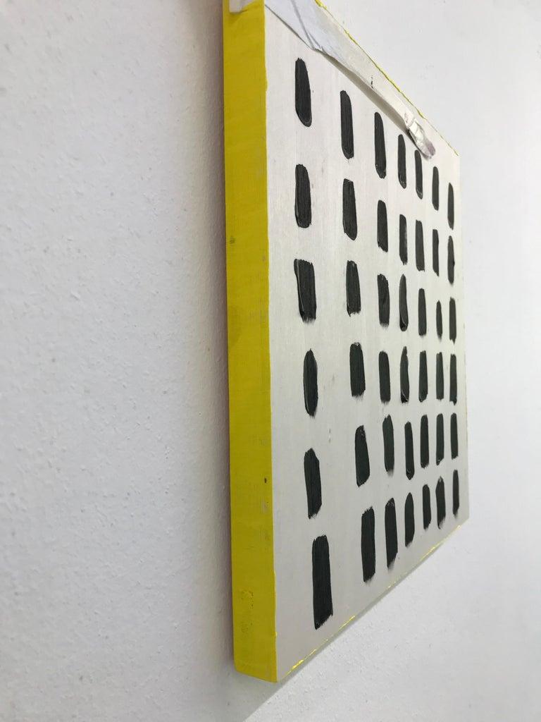Optimism Painting I - acrylic on wood For Sale 5