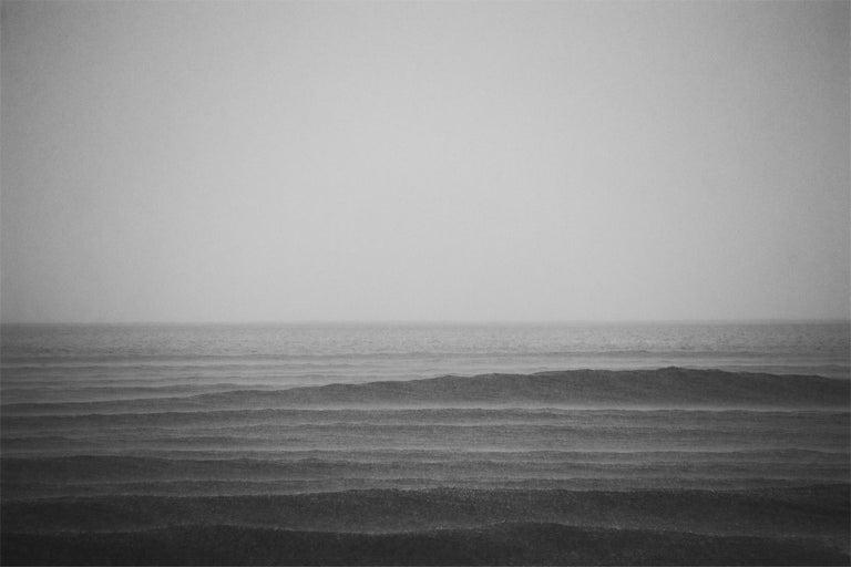 Stuart Möller Black and White Photograph - ' Seascape I '  Signed Limited Edition Oversize print