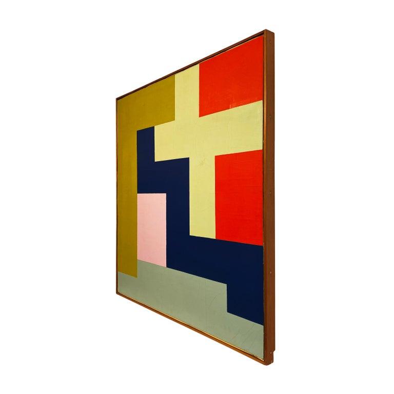 Modern Stuart Shedletsky - Cerrillos - 1978 - Framed Painting For Sale