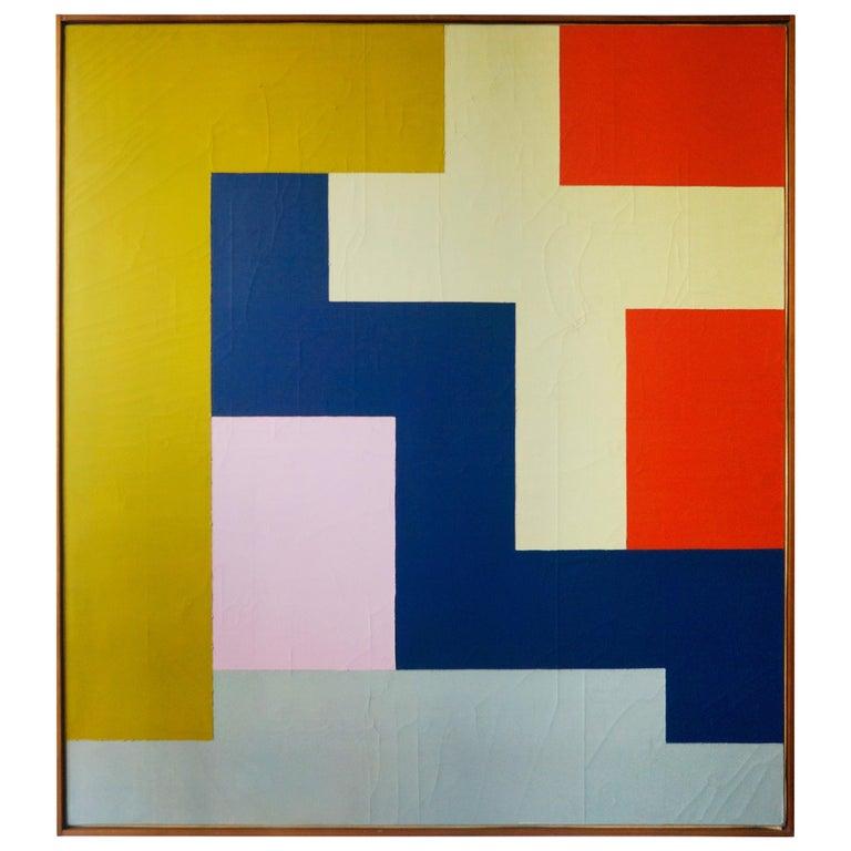 Stuart Shedletsky - Cerrillos - 1978 - Framed Painting For Sale