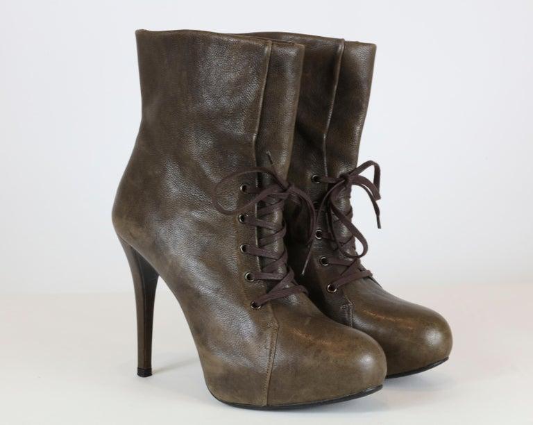 Black Stuart Weitzman Heel Boots For Sale