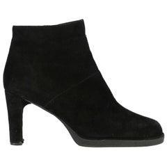 Stuart Weitzman Woman Ankle boots Black EU 35.5