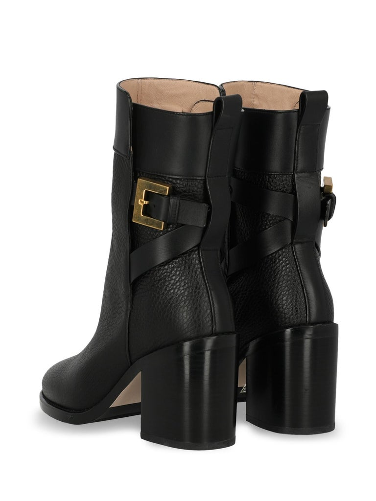 Stuart Weitzman Woman Ankle boots Black EU 40 In Excellent Condition For Sale In Milan, IT