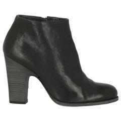Stuart Weitzman Woman Ankle boots Black Leather IT 39.5