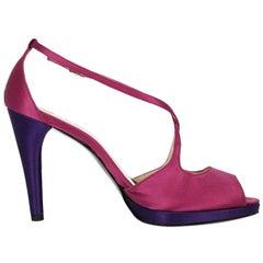 Stuart Weitzman Woman Sandals Pink, Purple EU 40