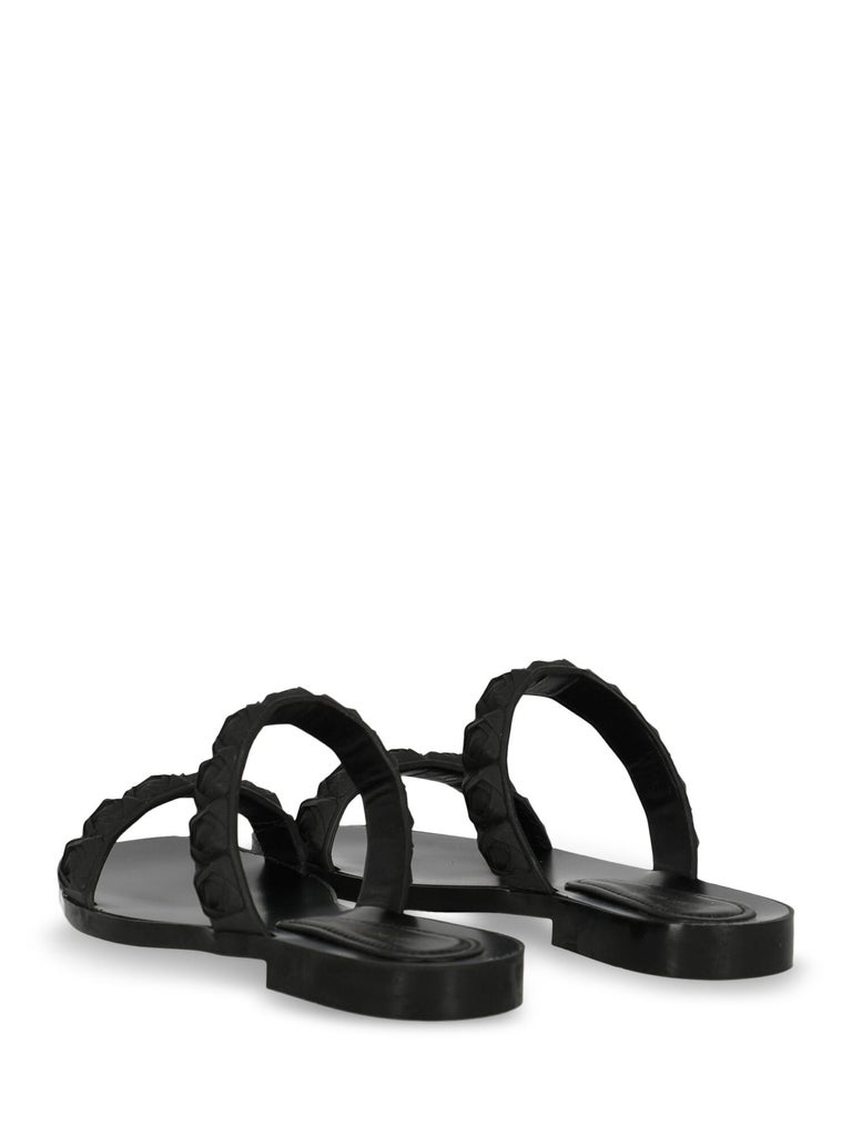 Stuart Weitzman Woman Slippers Black EU 36 In Excellent Condition For Sale In Milan, IT