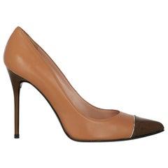 Stuart Weitzman  Women   Pumps  Brown, Camel Color Leather EU 39