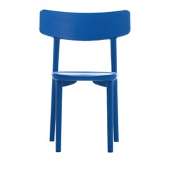 Stube Set of 2 Blue Chairs by Mikko Laakkonen