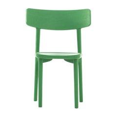 Stube Set of 2 Green Chairs by Mikko Laakkonen