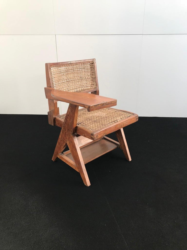 Teak Student chair by Pierre Jeanneret (1896-1967) For Sale