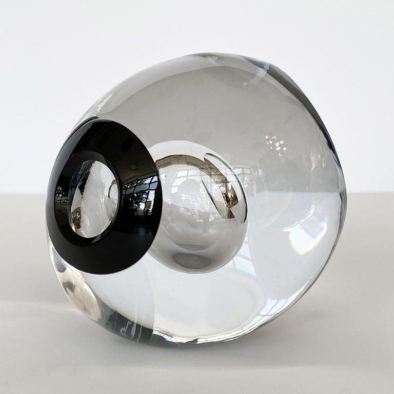 Studio Ahus Art Glass Sculpture by Lennart Nissmark 2