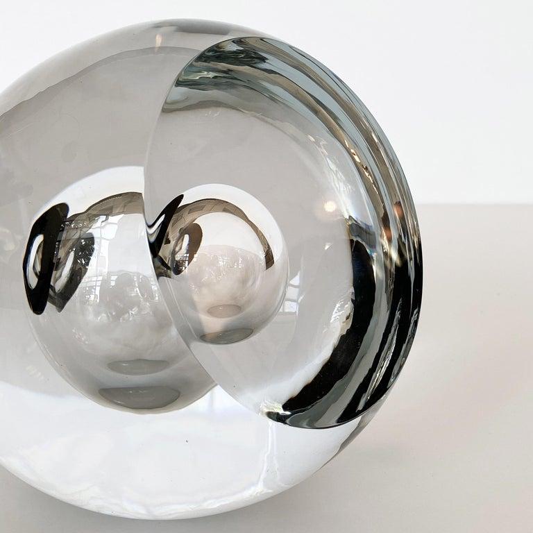 Studio Ahus Art Glass Sculpture by Lennart Nissmark 5