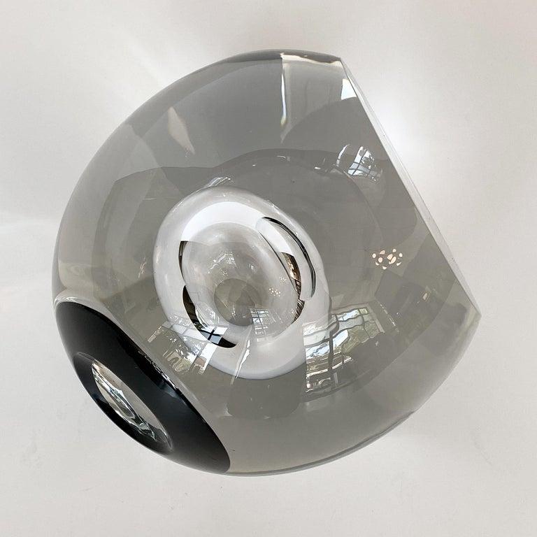 Studio Ahus Art Glass Sculpture by Lennart Nissmark 6
