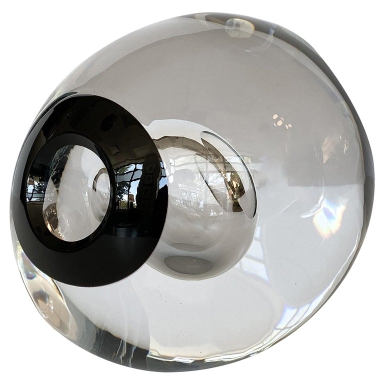 Studio Ahus Art Glass Sculpture by Lennart Nissmark