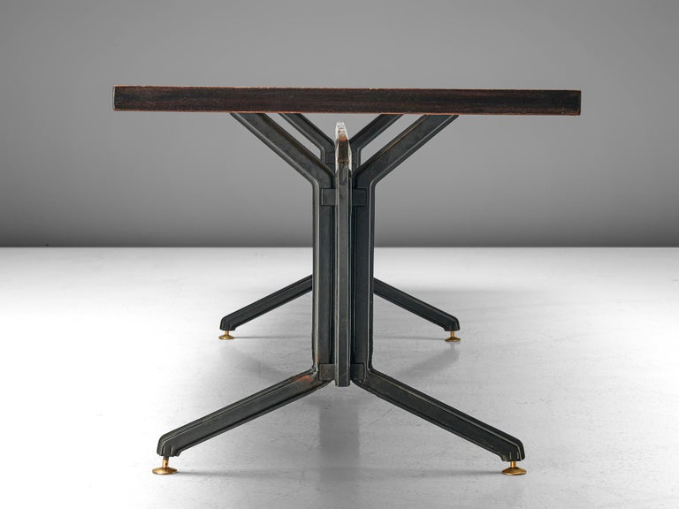 Studio BBPR 'Arco' Conference Table in Rosewood 3