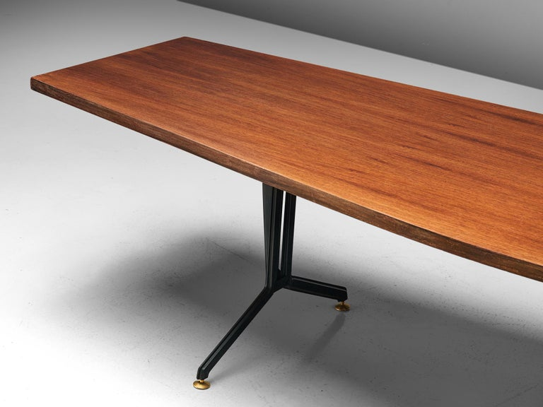 Mid-20th Century Studio BBPR 'Arco' Conference Table in Rosewood