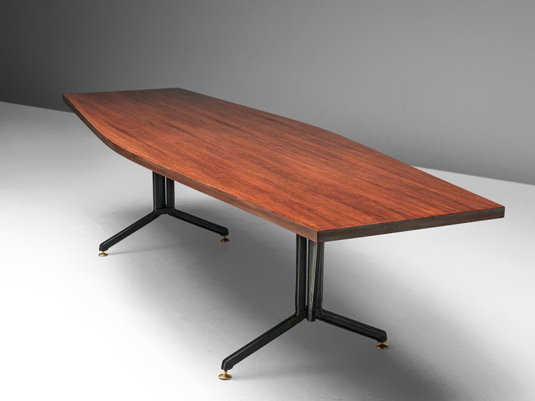 Studio BBPR 'Arco' Conference Table in Rosewood 1